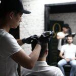 Мужская парикмахерская Стиль фото